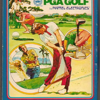 """PGA Golf"" Video Game Cartridge - Games"