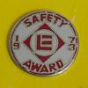 Erie Lackawanna Railway Safety Award Pin 1973