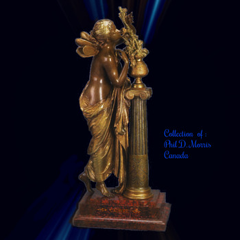 L'Aurore (The Dawn) Statue By Mathurin Moreau, Bronze Signed in Mould, Math Moreau - Art Deco