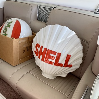 Shell Globe - Petroliana