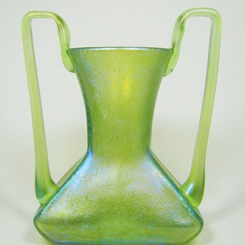 Loetz Candia Cisele ca. 1905 - 1910 inspired by Marie Kirschner - Art Glass