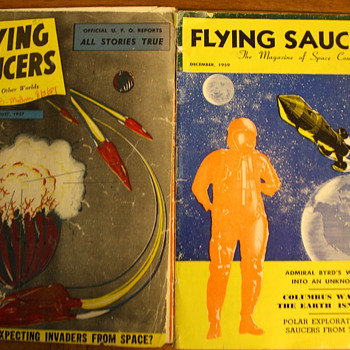 Old Flying Saucer Magazines - Paper