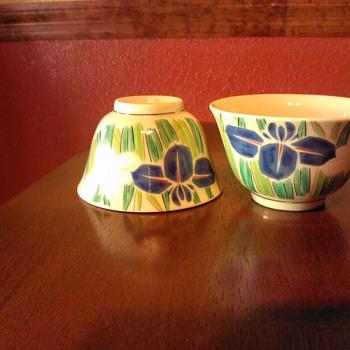 Asian Rice Bowls or Sake/Tea Cups