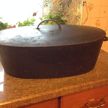 Who made this old cast iron pot?