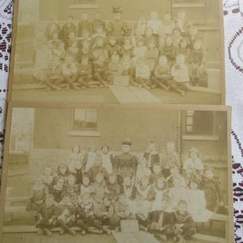 Clinton Street School 1st grade 1890/1896 - Photographs