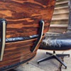 1956 Eames Lounge Chair with Highly Figured Rosewood