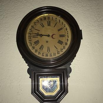 Ingraham Antique Wall Clock - Clocks
