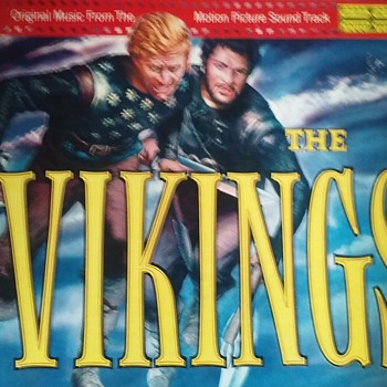 Soundtrack Week..#4..'The Vikings'..On 33 1/3 RPM Vinyl - Records
