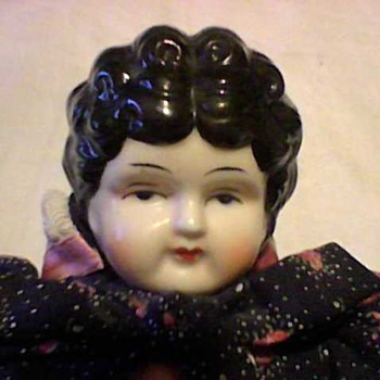 CHINA HEAD LOW BROW DOLL - Dolls
