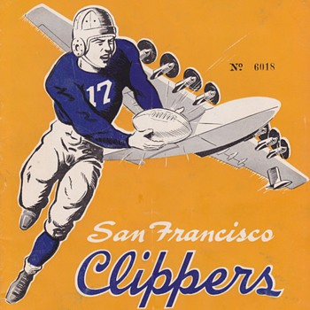 Some Rare old Football Programs - Football