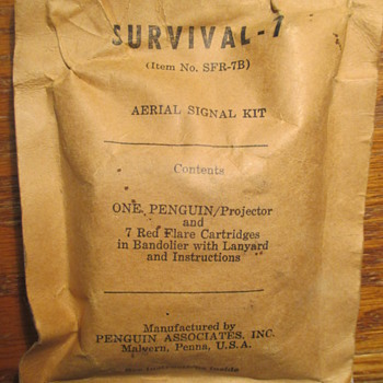 WWII era? Aerial Signal Kit No. SFR-7B by Penguin Assoc  Inc - Military and Wartime