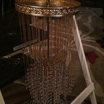 Crystal lamp, need info help - Lamps