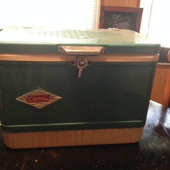 vintage ice chest - Sporting Goods