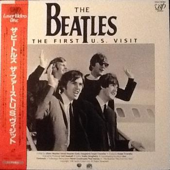 The Beatles first U.S. visit Laserdisc - Music Memorabilia