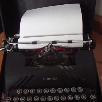 Typing Mashine Corona Silent - Office