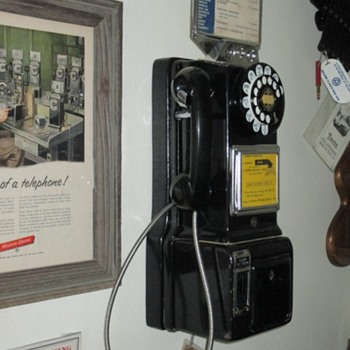 1950's Automatic Electric payphone - Coin Operated