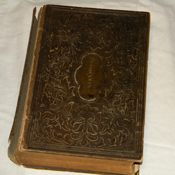 1868 N.&M.A. REED Cottage Bible & Family Expositor - Books