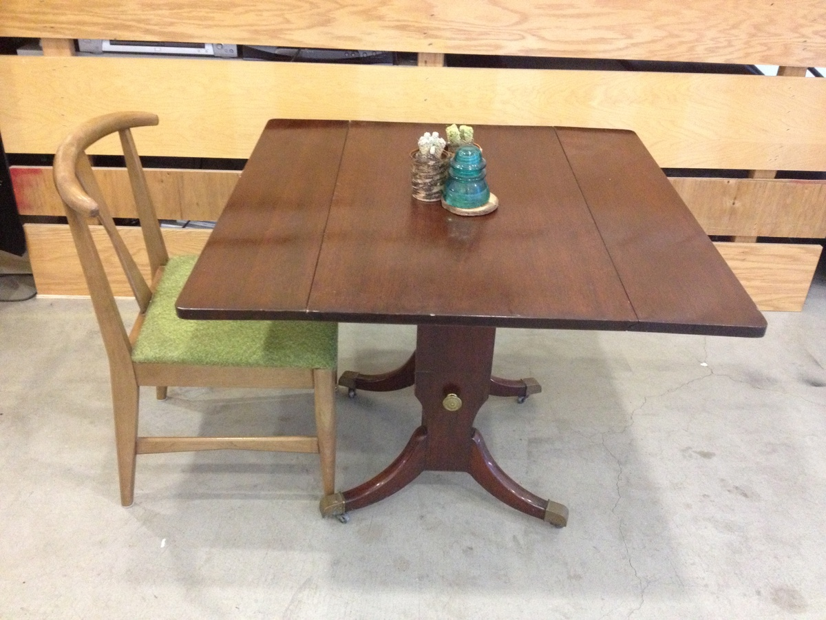 Vintage 1950u0027s Colonial Style Hi Low Adjustable Diner Table | Collectors  Weekly