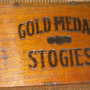 Gold Medal Stogies Box - Tobacciana