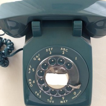 Rotary Telephone Model 500 Mediterranean Blue Western Electric - Telephones