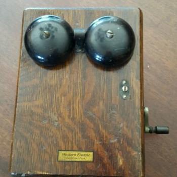 1910 Western Electric Phones - Telephones