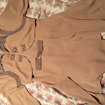 DIOR  - odd tunic ... Genuine? What do the letters stand for ?!