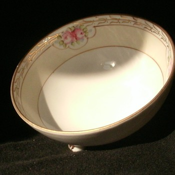 Authentic Rising Sun Hand Painted Nippon Bowl - Asian