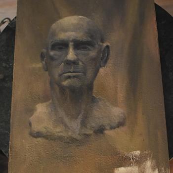 Interesting Portrait Painting - gloomy, but cool! - Fine Art