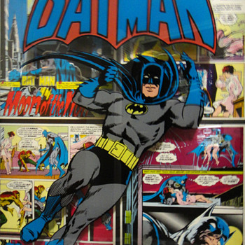 RARE BATMAN AND WONDER WOMAN 3D ART 1974 - Comic Books