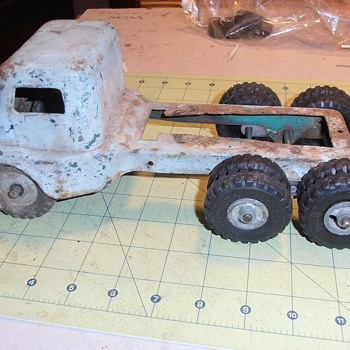 Structo COE Toy Semi-Truck OVERHAUL Follow-up - Model Cars