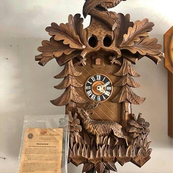 "Albert Schwab Large 8 Day Cuckoo Clock (30"" High x 18"" Wide)...Date Made? - Clocks"