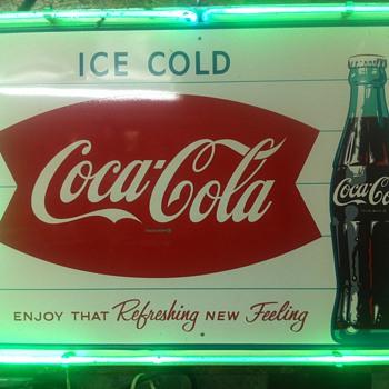 Coca Cola Neon Sign - Signs