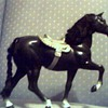 KEN DOLL HORSE MIDNIGHT