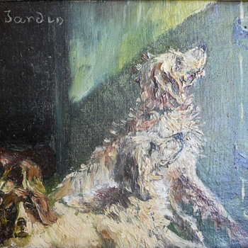 Four Wonderful Dogs - Fine Art