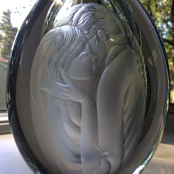 Strömberg Mother and Daughter - Art Glass