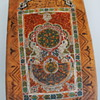 wooden painted panel persian islamic carpet prayers board