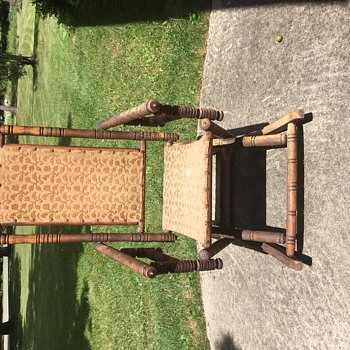 My unusual early unnamed rocking chair