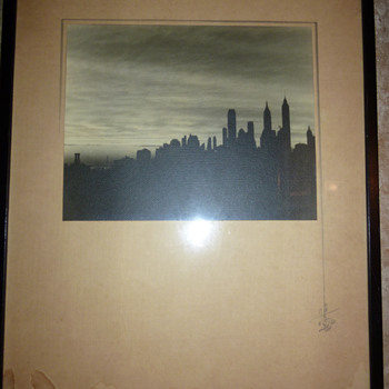 Original Drawing - Orient, NY 1935 - Fine Art
