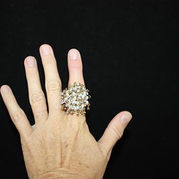 My beautiful Costume Jewlery ring!