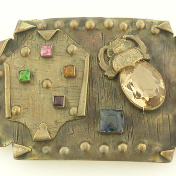 Beaux-Arts style George N. Steere sash pin - Fine Jewelry