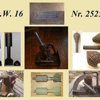 "My Granatenwerfer 16 - ""Belching Bertha"""