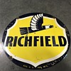 Richfield gasoline sign 4 ft