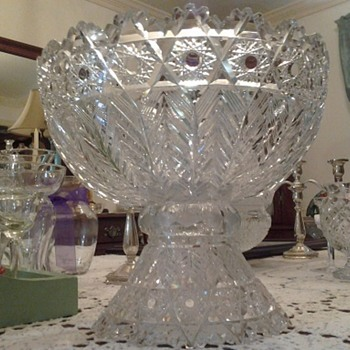 punch bowl - Glassware