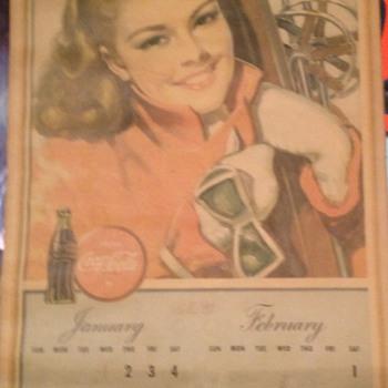 1947 Calendar - Coca-Cola