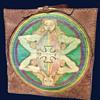 "Original 1970's Inscribed Hippy Folk Art ""Stash Box""."