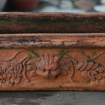 Old Terracotta Planter Box - Tuscany - Pottery