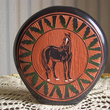 Navajo Horse Pottery - Native American
