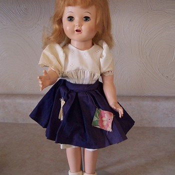 EARLY PLASTIC DOLL - Dolls