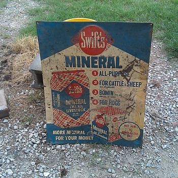 Swifts mineral - Signs