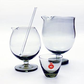 Two TIVOLI cocktail mixers, Per Lütken (Holmegaard, 1958)